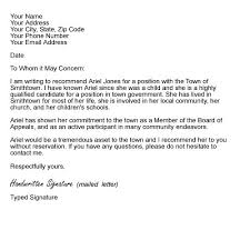 Letter Of Recommendation From Employer To College Letter Of Recommendation For Scholarship From Employer Rome