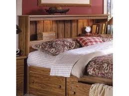 Shaker Full/Queen Bookcase Headboard with Lights by Lang at A1 Furniture & Mattress