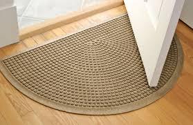 good half round rugs