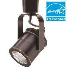 lithonia lighting spotlight 1 light oil rubbed bronze integrated led track lighting head
