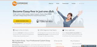 top n writing services of rankings reviews mycustomessay com review rated 3 9 10