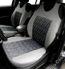 interior styling 2 grey car seat covers