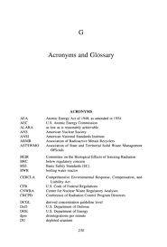 Appendix G Acronyms And Glossary The Disposition Dilemma