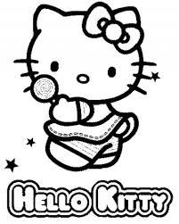 Hello Kitty Da Colorare E Stampare Gratis Giocattoli