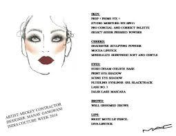 Mac Manav Gangwani Face Chart The Bombay Brunette