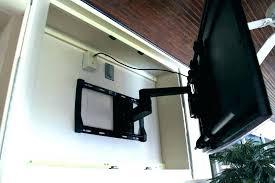 outdoor ideas mounting cabinet waterproof designs wall tv deck ide