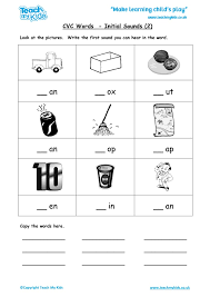 CVC Words - Initial Sounds 2 - TMK Education