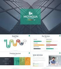 Motagua Multicolored Presentation Template Professional