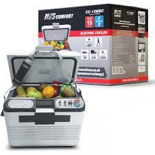 <b>Холодильник автомобильный AVS CC-15WBС</b> (15л 12В/24В/220В)