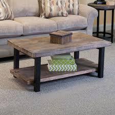loon peak somers 42 wood metal coffee table reviews