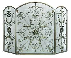 decorative fireplace screen decorative fireplace screens wrought iron trinity fireplaces for decorative fireplace screens