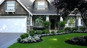 front flower beds ocean park home after makeover by fabulous flower beds  small front yard flower