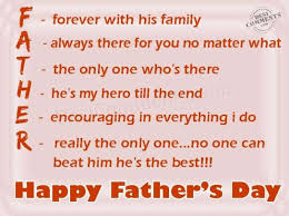 Quotes For Dads On Father's Day 24 Happy Fathers Day Quotes From Son Daughter Wife With Images 13
