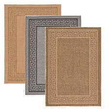 details about modern outdoor thin area rug contemporary plain large small carpet gray brown