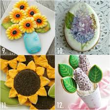decorated flower sugar cookies. Plain Decorated Decorated Flower Cookie Ideas Inside Flower Sugar Cookies W
