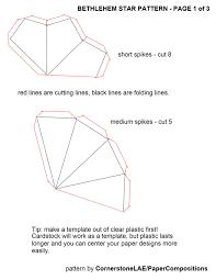 cornerstonelae bethlehem star pattern