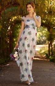 Maya Maternity Size Chart Maya Maternity Gown Long Dusky Floral Maternity Wedding Dresses Evening Wear And Party Clothes By Tiffany Rose