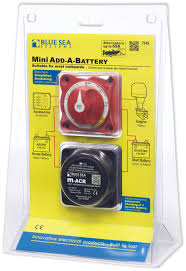 mini add a battery kit 65a blue sea systems product image click for larger and other images manual battery switches