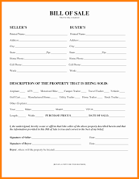 Personal Bill Of Sale For Car 014 Template Ideas For Bill Of Sale Cell Phone Property