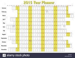 Annual Calendar 2015 2015 Year Planner In English Annual Calendar For Year 2015
