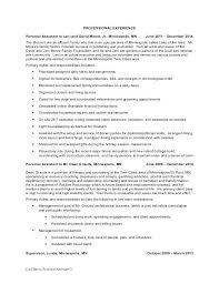 Personal Care Assistant Resume Skills Attendant Samples Sample