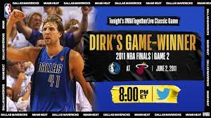 Game 2 of the NBA Finals vs. Miami Heat ...