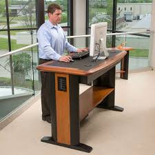 sitting all day can be terrible for your health we have taken a close look at the best standing desk and adjule standing desk options available