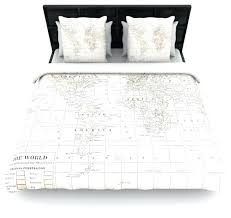 old world map duvet cover catherine holcombe the old world cream white cotton duvet cover queen