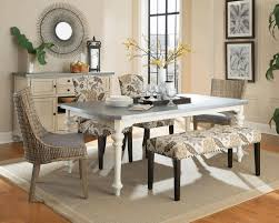 dining room tile flooring. dining room, cottage room glass chrome polishes table base white ceramic tile floor painted wooden flooring
