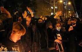 Image result for iran protests against ayatollah