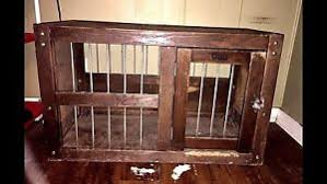 Orvis dog crate furniture Travel Image Is Loading Niceantique034orvis034solidoakwooden Ebay Nice Antique