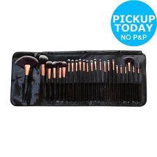 rio professional 24 piece cosmetic make up brush set from argos on ebay