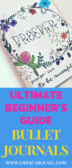 How To Start A Bullet Journal A Complete Beginners Guide