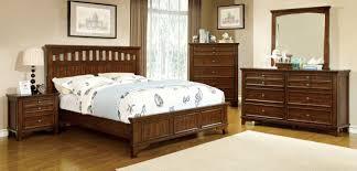 Mission Style Bedroom Furniture Furniture Of America Cherry Bally Mission Style Platform Bed