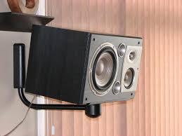 studio bookshelf speaker wall mount superb diy speaker wall mount