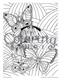 Coloring Pages Large Print Adult Coloring Book Big Beautiful