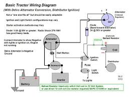 wiring diagram for a d 14 yesterday s tractors here s a basic diagram of alternator hookup switch configurations vary among different models