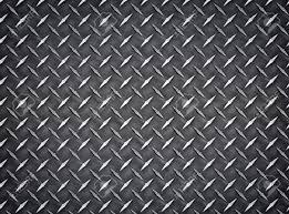 Seamless Industrial Diamond Plate Metal Background Texture Stock
