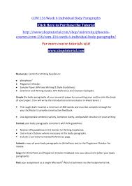 Com 156 Week 6 Individual Body Paragraphs By Vvbbbn Issuu