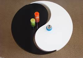 this yin yang two section coffee table is no longer available within