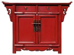 red bedside table pottery barn bedside tables red side table furniture oriental altar cabinet red