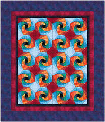 136 best QB Twisted Log Cabin images on Pinterest | Patterns ... & Twisted Log Cabin Quilt--great color combo - ooooh, don't think Adamdwight.com