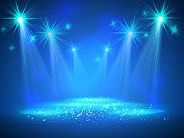 blue dream stage lighting background vector lights78 lights