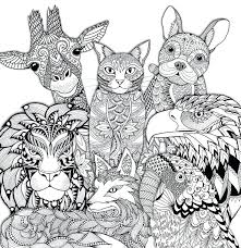 Coloring Animal Pages For Printing Ng Book Zoo Animals Pages To