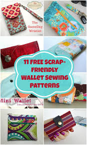 Free Wallet Patterns Cool Free Wallet Sewing Patterns To Download Purse And Handbag Patterns
