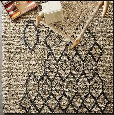 a jute rug is a carpet made from the jute fiber a hessian like vegetable fiber that is hand woven and spun into co strands