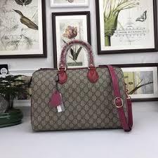 gucci 409527. gucci tian gg supreme boston bag 409527 rose d