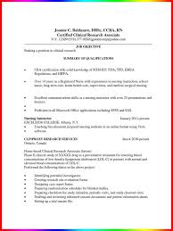 Cover Letter Clinical Instructor Resume Clinical Instructor Resume