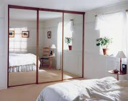 bodacious brown wooden ing sliding closet doors in silver steel bedroom decorations mirrored