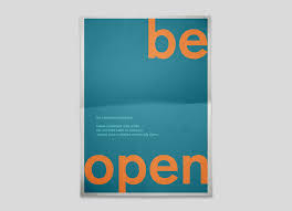 the office posters. Be Open.jpg The Office Posters